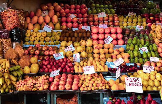 marchés madrid fruits