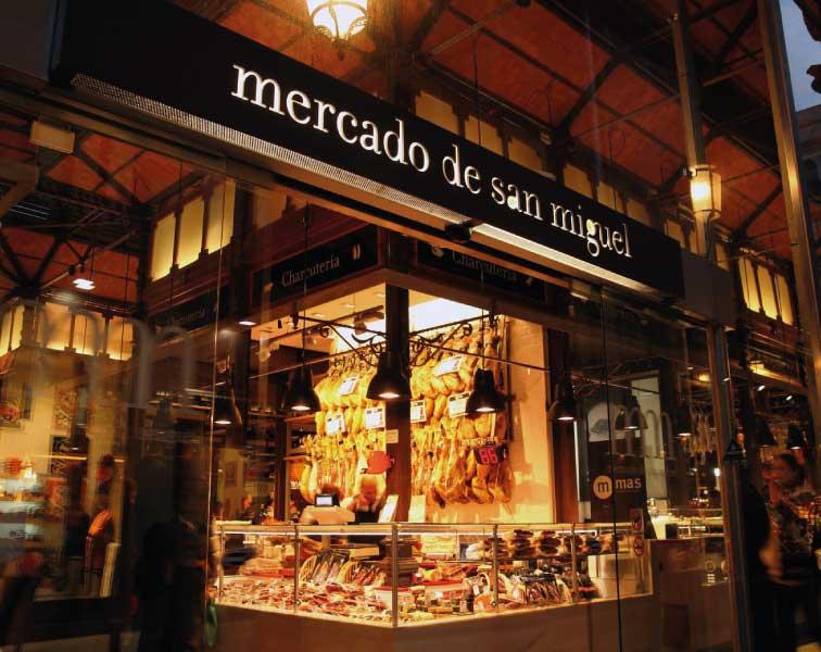 marchés de Madrid gastronomie