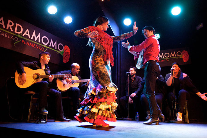 Tablao flamenco madrid discovery