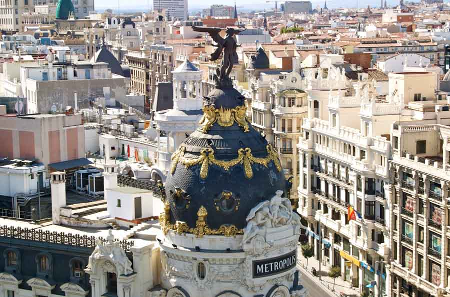 circulo roof top madrid