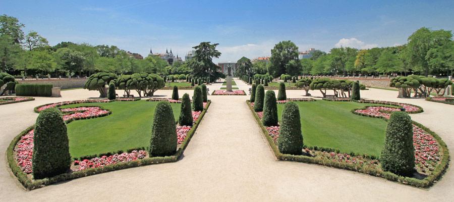retiro park garden
