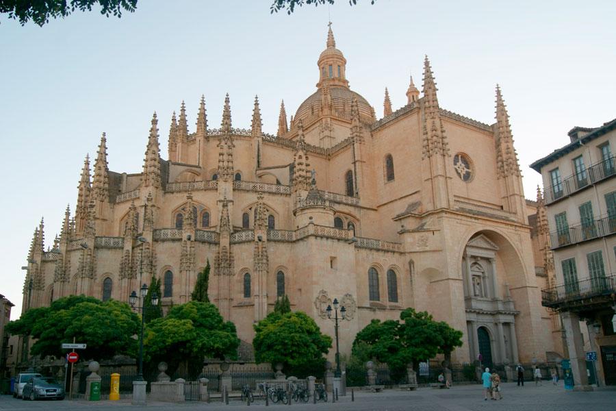 La cathédrale de segovia