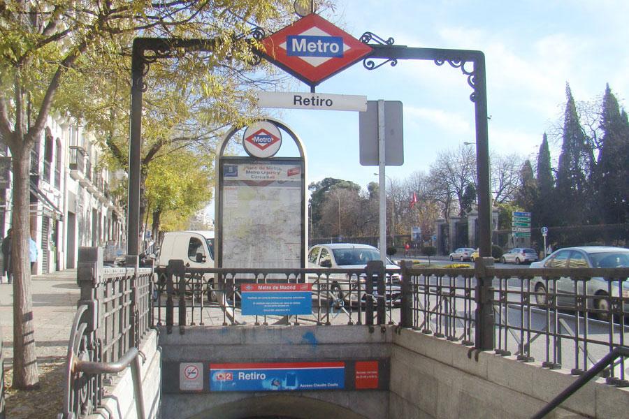 metro retiro