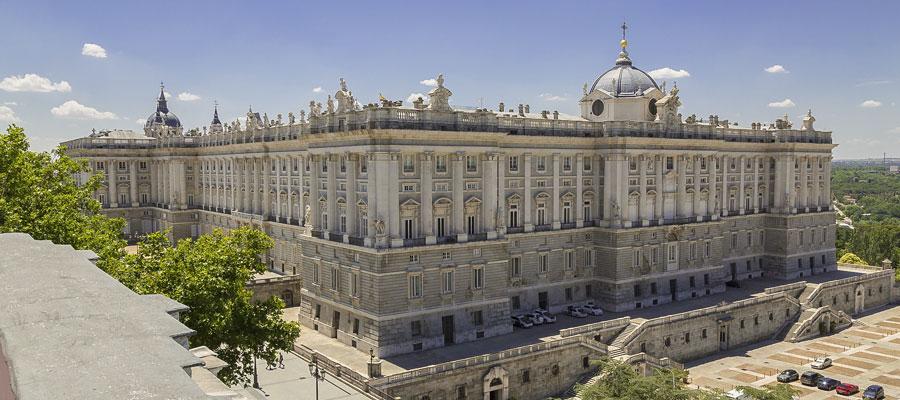 visiter madrid palais royal